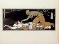 Designs on the Dances of Vaslav Nijinsky. Foreword by Francis de Miomandre.
