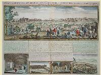 Vue et description de Bethleem et de Nazareth et de plusieurs singularitez curieuses sevoyents dans ces lieux saints.