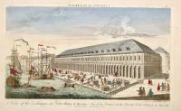 A view of the Exchange at Petersburg in Russia (ripetuto in francese)