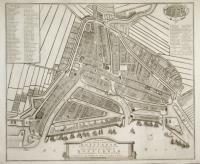 Plan nouveau de la ville de Rotterdam.