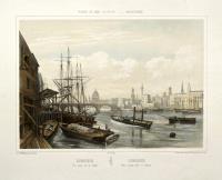 Londres. Vue prise sur la Tamise – Londres, vista tomaia sobre el Tamesis.