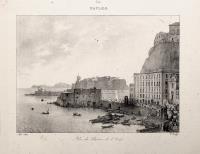 Naples,vue du Chateau de l'Oeuf.