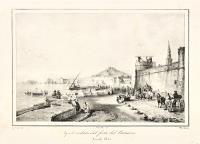 Napoli veduta del forte del Carmine