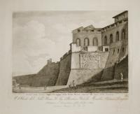 Avanzo della antica Porta Perugina detta Porta Marzia annessa alle mura della fortezza.