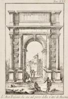 L' Arco Trajano che sta sul porto della Città di Ancona