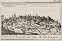 La Città di Orvieto capitale dell' Orvietano nello Stato Ecclesiastico