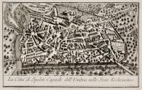 La Città di Spoleti Capitale dell' Umbria nello Stato Ecclesiastico.