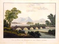Vue du pont de Baveno et de l'isola Madre.