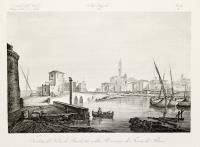 Veduta del porto di Barletta nella provincia di terra di Bari