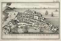 La Città di Siracusa, situata nella provincia di Noto, nel Regno di Sicilia.