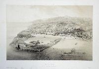 Messine, vue prise au dessus du Garofalo de Caribde.