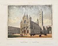 Siena, vue générale de la Cathedrale.