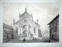 Verona, ve de la cathédrale – Verona, veduta della cattedrale.