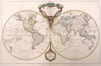 Mappe-monde dressée suivant les nouvelles relations et assujettie aux observations astronomiques. (Set completo con Continenti)