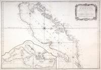 Carte hydrographique du Golphe de Venise.