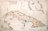 Carte réduite de L 'Isle de Cuba.