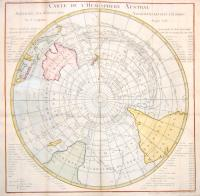 Carte de l'Hemisphere Austral