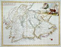 Carta geografica dell'Istria.