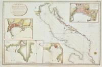 Carte réduite du Golfe de Venise assujettie aux Observations faites en 1818.