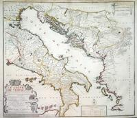Le golfe de Venise aux environs du quel se trouve a l'orient...les isle et cotes de Dalmatie et d'Istrie...Raguse...Romagne...
