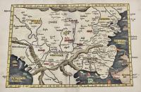 Europae Tabula nona continet Iaziges Metanastas Daciam, Mysiam superiorem, Mysiam inferiorem, Thraciam & Chersonesum.
