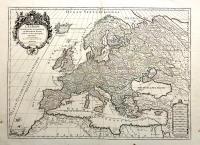 L'Europe divisée suivant ses principaux Etats.
