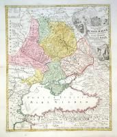 Tabula Geographica qua pars Russiae Magnae Pontus Euxinus seu Mare Nigrum et Tartaria Minor.