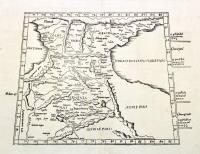 Tabula tertia Asiae compl.Colchidem, Iberiam, Albaniam, & Armeniam maiorem.