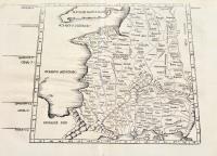 Europae Tabula tertia continet Galliam Aquitaniam Lugdunensem,Belgicam, & Narbonensem.