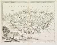 Carta geografica del regno di Corsica