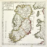 Isle et royaume d'Irlande.
