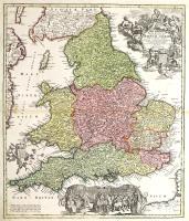 Magnae Britanniae pars meridionalis in qua regnum Angliae...