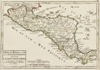 Partie du Mexique ou de la Nouvelle Espagne òu se trouve l'audience de Guatimala.