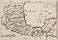 Partie du Mexique ou de la Nouv.lle Espagne òu se trouve l'audience du Mexique.