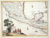 Carta geografica del Messico o sia della Nuova Spagna.