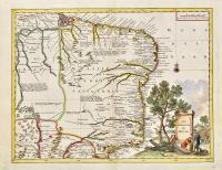 Carta geografica del Bresil.