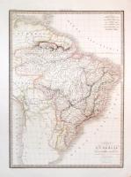 Carte du Brésil.