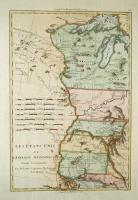 Les Etats Unis de l'Amerique septentrionale , partie occidentale.