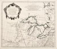 Partie occidentale du Canada et septentrionale de la Louisiane avec une partie de la Pensilvanie.