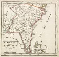 La Floride divisee en Floride et Caroline