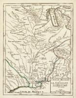 Cours du Mississipi et la Louisiane