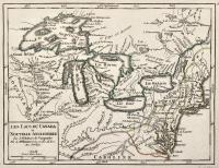 Les lacs du Canada et Nouvelle Angleterre