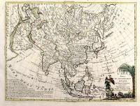 L'Asia divisa ne' suoi principali stati di nuova projezione.