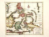 Nuova et accurata carta dell'isole Filippine, Ladrones e Moluccos, o isole delle speziarie come anco Celebes ecc.