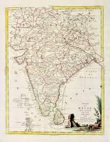 Stato del Mogol con le coste del Malabar e del Coromandel.