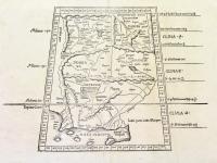 Tabula nona Asiae continentur, Aria, Paropanisadas, Drangiana, Arachosia & Gerdosia.