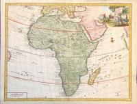 Carta generale dell'Africa.