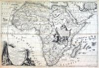 L'Africa divisa nelle sue parti secondo le più moderne relazioni colle scoperte dell'origine e corso del Nilo.