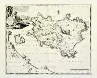 Insulae Ischiae Novissima... Delineatio.