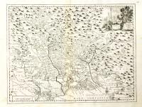 Carta geografica della provincia del Friuli